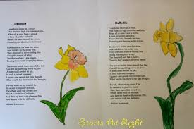 nature study daffodils dissection poetry u0026 drawings