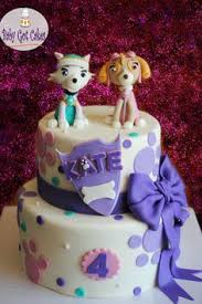 paw patrol cake flying skye cake ideas paw