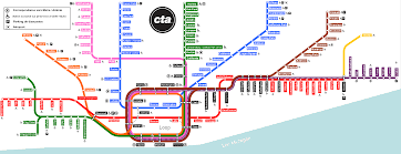 Cta Map Red Line The L Train Map Portland Maps Online