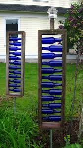 Recycled Garden Decor Decorative Garden Stakes Diy Best Decoration Ideas For You