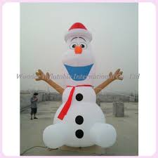 Outdoor Inflatables Large Airblown Outdoor Inflatables Olaf