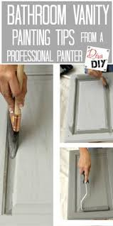 bathroom cabinet paint ideas easy way to paint your bathroom cabinets painted bathroom
