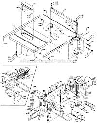 powermatic table saw parts delta 1160 parts list and diagram type 1 ereplacementparts com