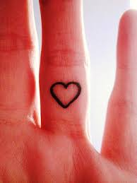 30 adorable small heart tattoos