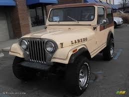 jeep cj laredo 1982 tan jeep cj7 laredo 4x4 22554455 photo 2 gtcarlot com