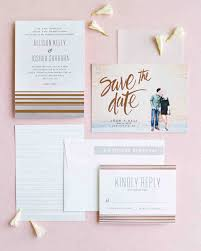 wedding invitations and save the dates 22 creative save the dates to kick your wedding martha stewart
