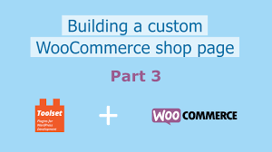 build a custom home online building a custom woocommerce shop page youtube