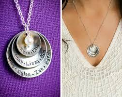 children s locket necklace child name necklace etsy