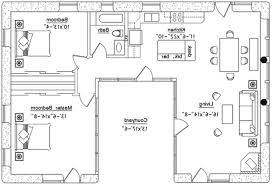 U Shaped Kitchen Floor Plans Floor Plane Marla House Plan By Design Estate With Floor Plane