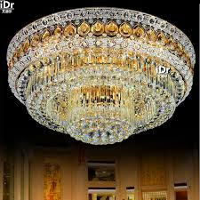 Led Dining Room Lights by S Gold Golden Living Room Crystal Lamps Led Circular Dining Room
