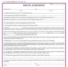 car rental agreement sample car rental agreement template