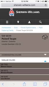 poised taupe color http www sherwin williams com homeowners color find and explore