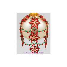 snowflake 8 beaded ornament pattern west jewels