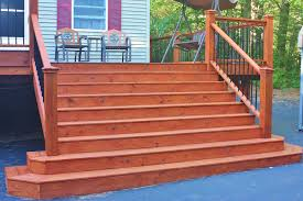 deck after second coat of australian timber oil mahogany flame 8