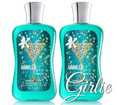 2 x holiday bath body works vanilla tini shower gel wash full size