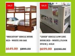Sydney Bunk Bed Bambino Home Bunk Beds For Sale Bunk Beds Bunk Beds Sydney Bunk