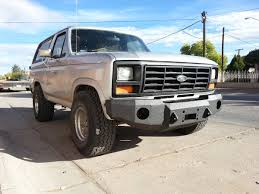 prerunner bronco bumper 1980 1986 ford bronco front base bumper u2013 iron bull bumpers