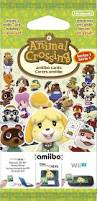 animal crossing amiibo cards only 3 cards per pack in europe