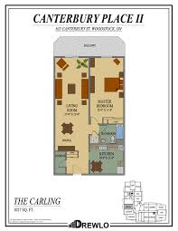 Canterbury Floor Plan by Canterbury Place Ii Woodstock Ontario Drewlo Holdings