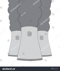 vector hand drawn nuclear power plant stock vector 361572635