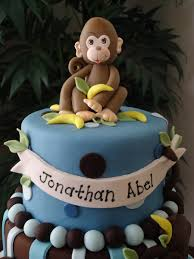 monkey boy baby shower cake i made this cake for my baby shower