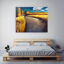 whispering wheat by iris scott gallery wrapped canvas print wall