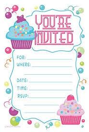 birthday invitation cards amazon com