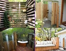 Outdoor Shower Room - 20 irresistible outdoor shower designs for your garden