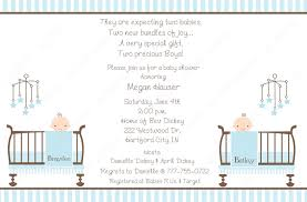 Shrimant Invitation Card 10 Twin Boy Baby Shower Invitations With Envelopes Free
