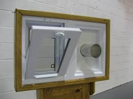 dryer vent windows