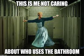 Bathroom Meme - bathroom politics imgflip