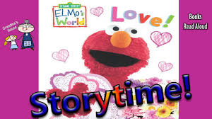 elmo valentines elmo s world read aloud s stories for kids