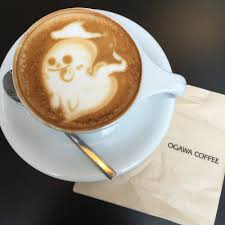 ghost pics for halloween ghost latte art for halloween yelp