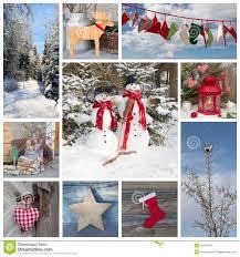 country christmas card christmas lights decoration