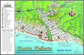 Map Of Puerto Vallarta Mexico by Mapa Jeff Cartography Puerto Vallarta Maps