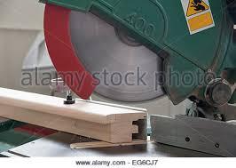 Bench Mounted Circular Saw A Close Up Of A Circular Saw Table And Blade Stock Photo Royalty