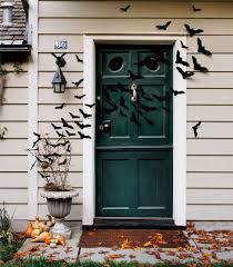 bird decorations for home interesting front porch halloween decoration with white apparition