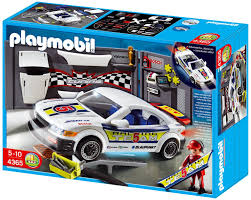 playmobil 4365 tuning workshop and car with lights amazon co uk