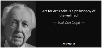 zaha hadid philosophy frank lloyd wright quote art for art s sake is a philosophy of the