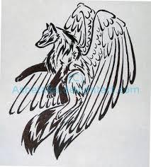 spirit flame wolf tattoo by wildspiritwolf on deviantart