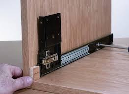 cabinet pocket door slides pocket door slides startwoodworking com