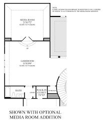 Room Addition Floor Plans Cinco Ranch Ironwood Estates The Montelena Home Design