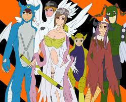 digimon halloween costumes by starshinethealicorn on deviantart