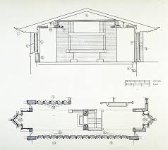 house plan dimensions robie house plan with dimensions arts unsonian pinterest