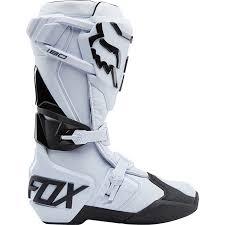 white motocross boots new fox racing mx 2018 180 white dirt bike motocross boots ebay