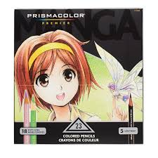 23 prismacolor manga colored pencils prismacolor premier