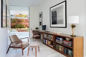 Mid Century Modern Office Desk Endearing Mid Century Modern Office On 15 Inspirational Home