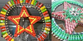 christmas decorations to make out of recycled material