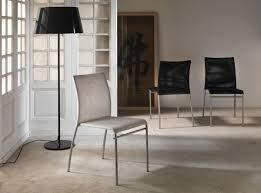 Esszimmerstuhl Bequem Stuhl Aus Metall Mit Pvc Netz Sitz Und Rückenlehne Stapelbar