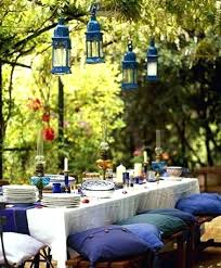 outside table decor ideas outdoor wedding table decorations